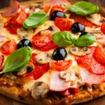Italy, pizza, vegetables, ingredients, tomatoes, gourmet, pizza desktop wallpaper