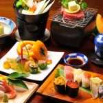 Japanese cuisine, dishes, rich, food, food, food, wallpaper