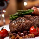 Barbecue, food, wine, food, meat products, tomatoes, vegetables, themed food computer wallpaper