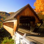 Covered Bridge, Woodstock, Vermont hd wallpaper