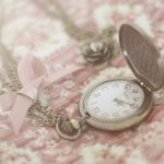 Beautiful love gift pocket watch wallpaper