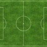 Soccer field desktop background, soccer field flat wallpaper