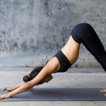 Yoga, posture, exercise, yoga beautiful desktop wallpaper