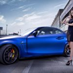 BMW sports car and beauty car model HD wallpaper