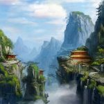 Chinese style game scene original painting wallpaper big picture