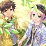 Anime couple HD wallpaper