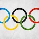 The Olympic Rings desktop background