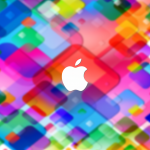 Colorful apple wallpaper