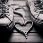 Shoelace Lace Heart wallpaper