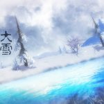 Heavy snow hd wallpaper