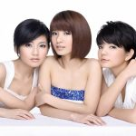 Taiwan star beauty combination S.H.E wallpaper picture