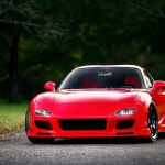 Red Mazda Sports Car HD Desktop Wallpaper