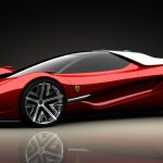 Red Ferrari HD Sports Car Wallpaper