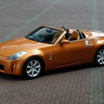 Local gold Nissan Nissan 350z HD wallpaper
