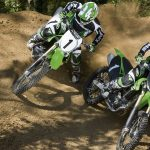 Two motocross riders wallpaper