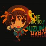 Cute q version anime cartoon character desktop wallpaper
