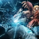 Street Fighter Game HD Broken Screen Wallpaper Desktop