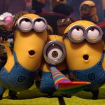 Despicable Me 2 Celebration of Little Yellow Man HD Wallpaper