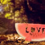Love watermelon love beautiful desktop wallpaper