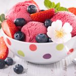 Ice cream, sweets, fruit strawberry desktop wallpaper