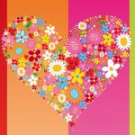Pattern love hd wallpaper