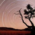 Star Trails, Namib-Naukluft Park, Namib Desert, Namibia, Africa desktop background
