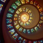 Church's stained glass window murals