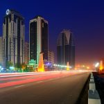 Grozny night scenes desktop wallpaper