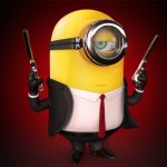 Despicable dad 2, little yellow man, sought-after, desktop wallpaper