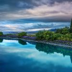 New Zealand town Tekapo landscape desktop wallpaper