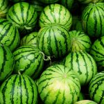 Watermelon, green, stripes, watermelon desktop wallpaper