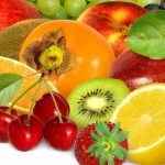 Fruit, orange, kiwi, cherry, apple, persimmon, dragon fruit, strawberry, fruit wallpaper