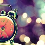 Beautiful alarm clock non-mainstream HD wallpaper