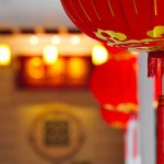 Chinese New Year Lantern Desktop Background Picture