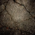 Cracks on asphalt wallpaper