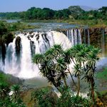 Blue Nile Falls, Ethiopia wallpaper