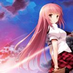 Girl shape long hair anime girl wallpaper desktop