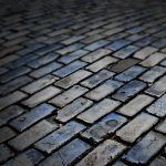 Paving slabs wallpaper