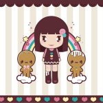 Cute doll anime cartoon desktop wallpaper