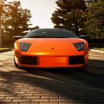 Orange Lamborghini Murcielago Wallpaper