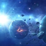 Science fiction planet hd wallpaper