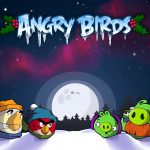 Angry Birds New Year Desktop Wallpaper
