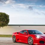 Red Ferrari f430 desktop wallpaper HD download