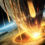 Starry planet impact wallpaper big picture