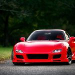 Red Mazda fd HD wallpaper download