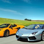 Lamborghini, McLaren's Aventador LP700-4, MP4-12C sports car wallpaper