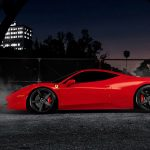 Super sports car red Ferrari HD wallpaper