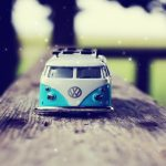 Lomo style toy car wallpaper