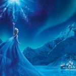 Animation,film,ice peak,freeze,snow mountain,ice elsa ultra hd wallpaper