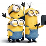 2015, little yellow guy, funny face, mobile phone, selling cute, cute little yellow guy wallpaper